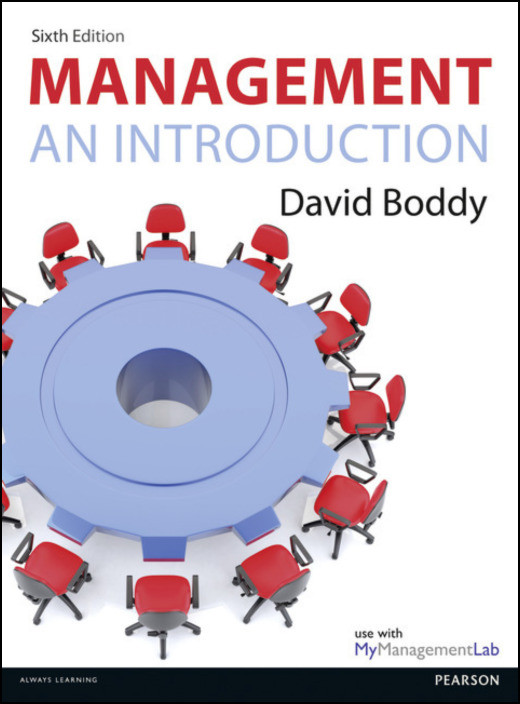 Management: An Introduction, by David Boddy