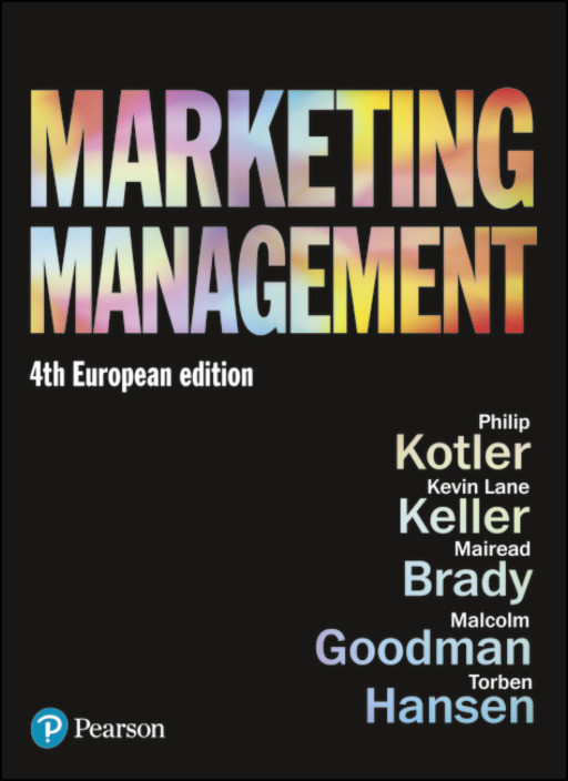 Marketing Management: European Edition
