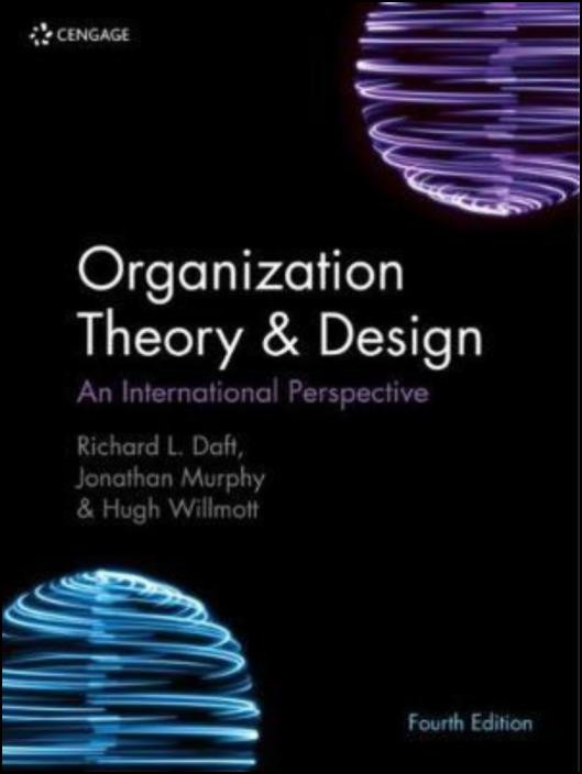 Organization Theory & Design