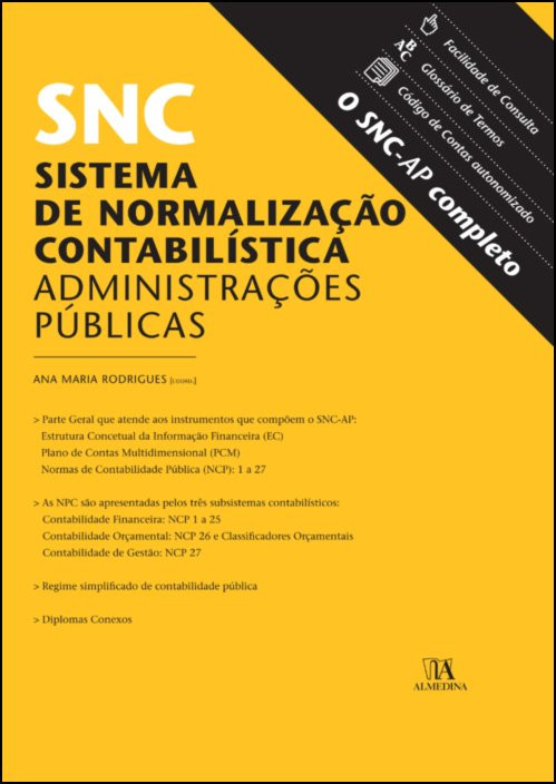 SNC-AP - Sistema de Normalização Contabilística para as Administrações Públicas