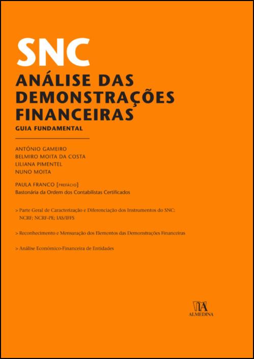 SNC - Análise das Demonstrações Financeiras- Guia Fundamental
