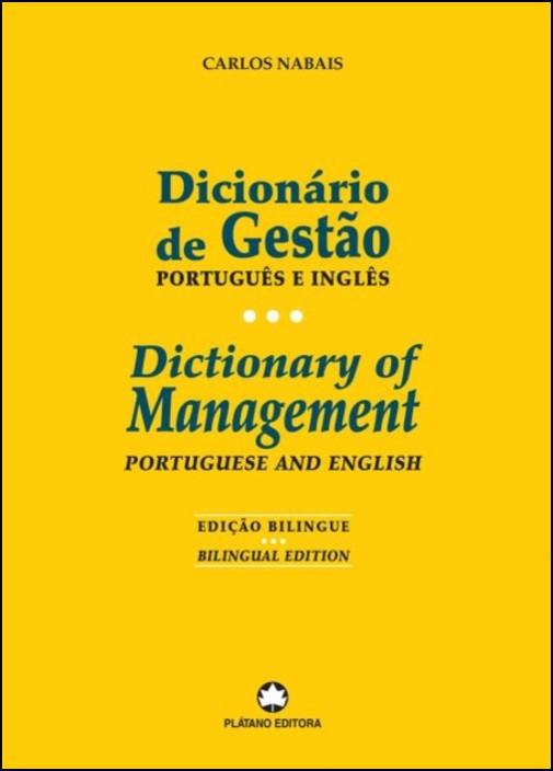Dicionário de Gestão - Português e Inglês